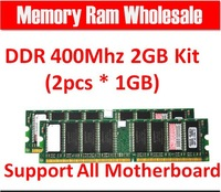 Brand New 1GB*2  Memory Ram DDR2 2G 800Mhz PC2-6400 For desktop computer, memoria ram for all motherboard Free Shipping for Sale