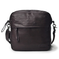Vegoo vintage bag black backpack fashion men's bag