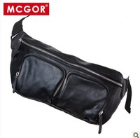 Mcgor male bags men's small casual bag waist pack chest pack cigarette packaging messenger bag