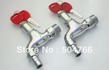 Precio de costo de fábrica de 1/2 pulgada Grifos de latón grifo con cerradura de Lin -10(China (Mainland))