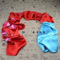 unique handmade embroidery silk cape
