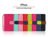 10/lots,8 color,,IPHOX bump color bracket holster  leather case For sony L39h (Xperia Z1) , free shipping
