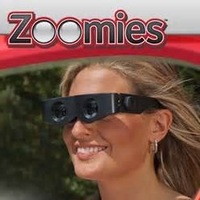 Zoomies Hands-Free Zoom 400% Binoculars Multifunctional Glasses Zoom-in Any Time at Home or Away Free Shipping