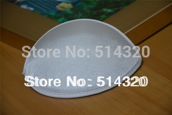 B045 White Satin TearDrop Millinery Hat Fascinator and Headpieces Base DIY Craft  Wholesale