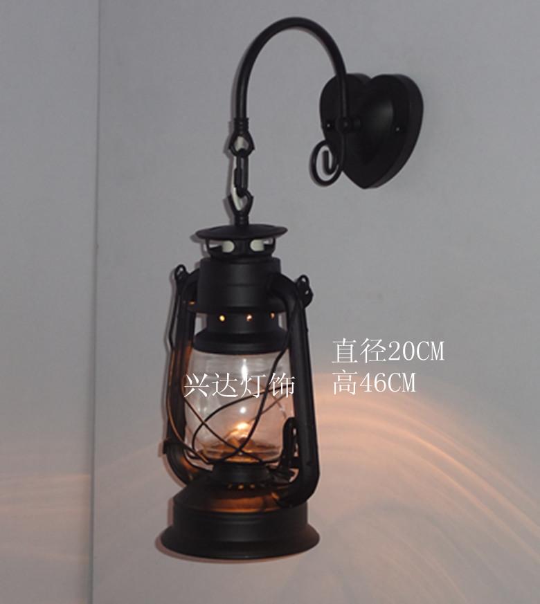 free shipping fashion iron lantern kerosene lamp nostalgic