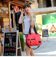 Women's canvas handbag autumn and winter fashion ol shoulder bag casual all-match handbag cross-body bag