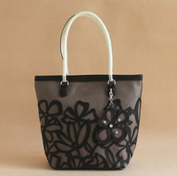 Free Shipping Fashion Cute Flowers Shoulder Bag Women Handbag