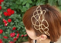 Min order is 10usd (mix order) fashion Korea Hollow out  Hair bands jewelry lady shop Free shipping