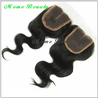 "AAAAA Brazilian Virgin Hair Top Lace Closure 5""x5"" length 8""-24"" bleached knots Body Wave Cheap Hair Pieces"
