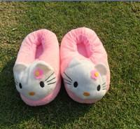 HELLO KITTY Cartoon Children Cotton Slippers Home Slippers Cotton Slippers Baby Warm All inclusive
