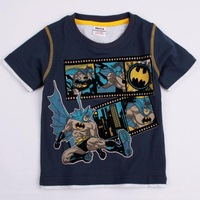 FREE SHIPPING C3959# Baby boy clothing fashion style cotton short sleeve monkey in the bicycle print t shirt