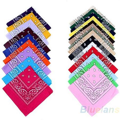 hip-hop bandanas for Male female men women head scarf Scarves multi colour style Wristband 2014 Cotton 100% 1NAJ(China (Mainland))