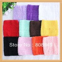 40pcs/lot free shipping crochet top for tutu 15CM crochet tutu tops wide Large Crochet Headbands or Tutus You Pick Colors