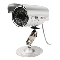 4 Channel CCTV DVR System with HD Recording (2 Outdoor Waterproof Camera& 2 Indoor Dome Camera)