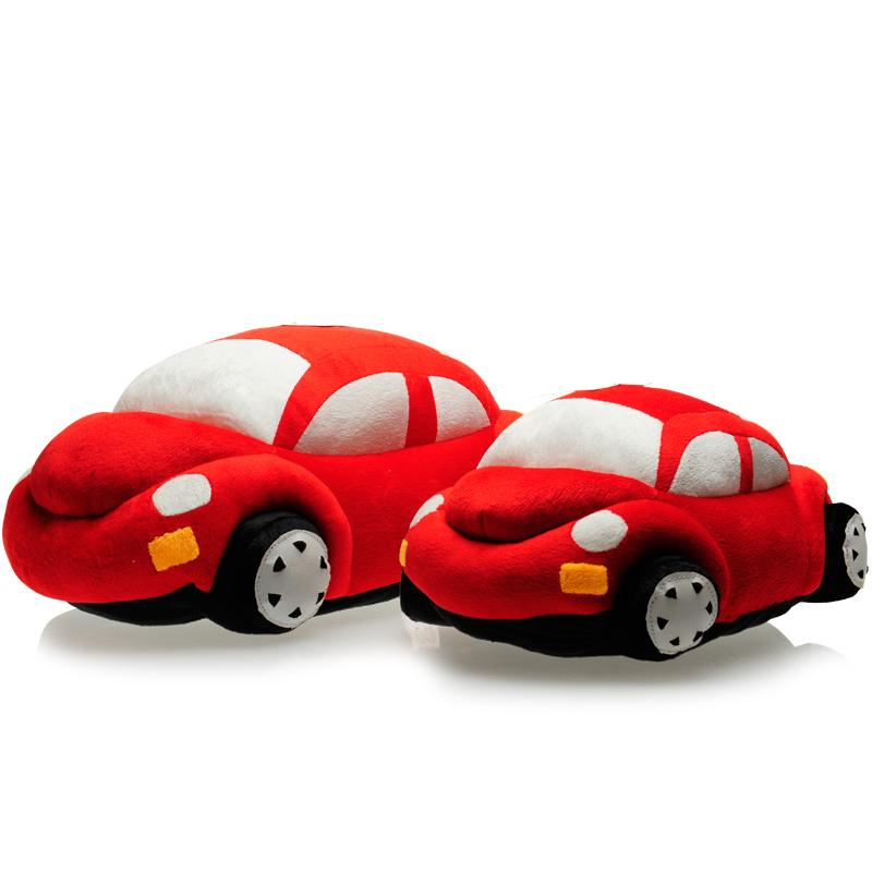 Sedan car style plush toys cartoon embroidery pattern cushion pillow decoration(China (Mainland))