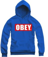 2013 new wholesale obey brand bboy street hip hop hoodie Sweater Hoody for men and women free ship dropship