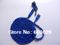 15pcs/lot ,Thicken inner pipe 75 FT Garden water Hose expandable flexible hose with spray gun Fit for USA / EU Standard