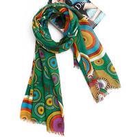 Spring and autumn fashion cape women's muffler scarf all-match scarf dual silk scarf print
