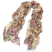 Women's fashion long fashion design cape scarf air conditioning cape tassel silk scarf
