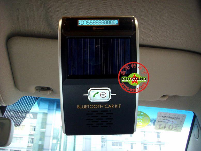 Yk-168p sun-shading board car bluetooth hands-free car mp3 player one piece machine(China (Mainland))