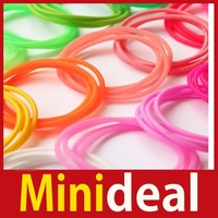 rising stars [MiniDeal] 3PCS Elastic Stretchy Luminous Rubber Silicon Hair Rop Fluorescent Bangle Hand Ring Hot hot promotion!