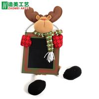 Christmas door hanging decoration brown christmas blackboard door hanging garishness door hanging Christmas decoration supplies