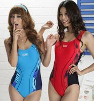 Plus Size One Piece Leotard Slim Swimwear Professional Sports Female Swimwear Racing Competition Bodybuilding Swimsuit
