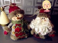 Christmas accessories snowman christmas tree fabric pendant small decoration