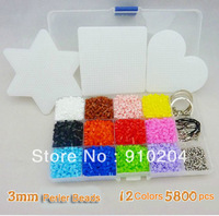 Perler Beads Set, Hama Beads Activity Product 100% Quality Guarantee Fused Beads,3mm,BD003