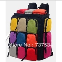 free shipping new big bag shoulders back travel