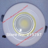 6.5 inch COB Ceiling light 20W 15W 85V-265V TH44 rounded for bathroom Kitchen Recessed lighting  + 10pc + Discount