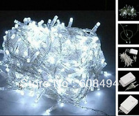 30M 300 LED Fairy Party Wedding Christmas String Light Garland Xmas decoration 8 sparkling modes 220V EU- White