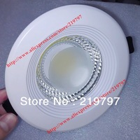 6.5inch COB downlight 20W 15W 85V-265V TH44 rounded for bathroom Kitchen Recessed lighting  + 1pc + Free shipping
