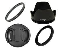 Camera Lens Adapter Ring SX50 HS to 67mm + lens cap + lens hood + UV Filter 67mm For sx30 sx40 sx50