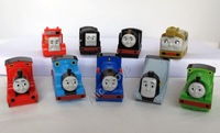 Thomas the tank engine Train GULLANE PVC Toy figure 9pc AU(wheel can move)