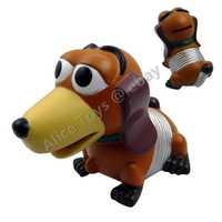 Toy Story Slinky Dog  PVC coin bank piggy bank 12 cm toy figure