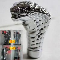 Supply Personalized modified alloy gear lever shift gears first handball files cobra head gear head
