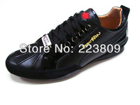 Free Shipping Fall/Winter Dsq Men's Sneakers Black Shoes For Men d2 Casaul Shoes British Style