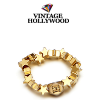 Hollywood star dream dreaming ring elastic ring