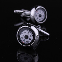 WORKING COMPASS Men's Cufflinks Cuff Links