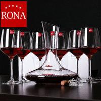 Rona kupper crystal Large wine glass sobering device hanap set gift wine