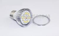 10pcs/lot 220V-240V 5W E27 White/Warm White LED Light Led Lamp Bulb Spotlight Spot Light