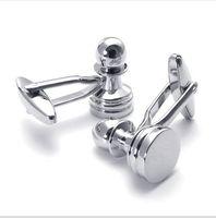CU1122054 silver  Copper alloy cufflinks men's shirt cuff cufflinks French shirt gentleman business cuff links italy designer