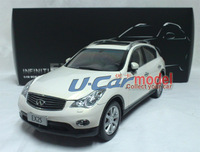 1 pca /lot 1:18 Original  Infiniti EX25 2013 die-cast Model Car (high quality) White New Arrival