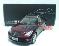 1 pca /lot 1:18 Original  Infiniti EX25 2013 die-cast Model Car (high quality) Red New Arrival