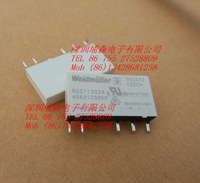 In stock Weidmuller relay RSS113024 24VDC 6A/250VAC 4060120000 New and Original Ready to ship