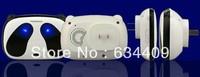 AC Digital wireless doorbell 1 transmitter & 4 receivers,52 kinds of lovely ringtones, 300 meters reception range