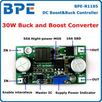 Free Shipping 2pcs/lot 30W DC DC Boost Buck Converter Step Up Step Down Module DC to DC 5~25V to 0.5~25V Converter