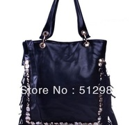 Fashion  women shoulder bags / pu Leather bags women, tassel handbags / designer handbags
