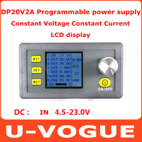 Free Shipping DP20V2A Constant Voltage Constant Current Programmable Control Step Down Power Converter DC DC Buck Module